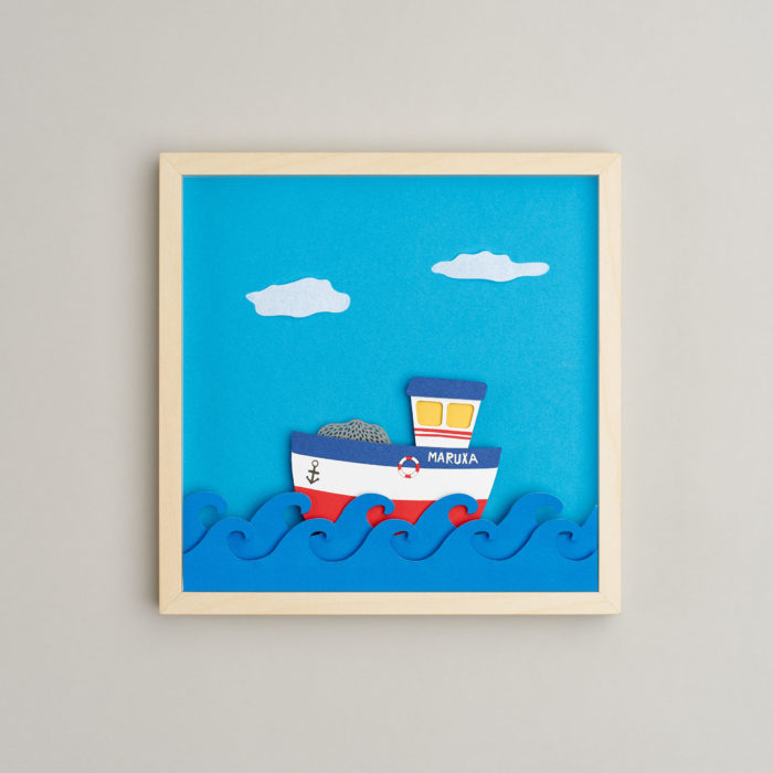 Sailor Fishing Boat